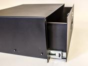 Server Cabinet Case 48cm Rack Mount DJ Locking Lockable Deep Drawer with Key 4U