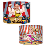 Beistle 57975 Circus Couple Photo Prop, 0.9m by 60cm