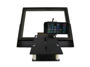 R810-10 iPad Teleprompter (w/Beam Splitter Glass) + Bracket to use iPhone Camera