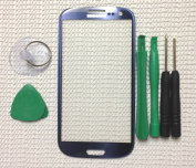 Pebble Blue Replacement Screen Glass Lens for Any for for for for for for for for for for Samsung Galaxy S3 i9300 & Tools