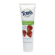 Tom's of Maine Natural Fluoride Free Toothpaste for Children, Silly Strawberry 120ml