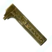 Brass Sliding Gauge Pocket Calliper - 80mm