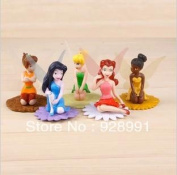 Anime Cartoon Tinker Bell Fairy Doll Action Figures Hand-doneclassic Toys Set For Baby Girls