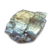 33.50 Ct. NICE!! Unheated Natural Rough Blue Green Flash Labradorite