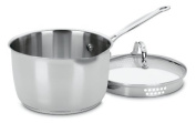 Cuisinart 7193-20P Chef's Classic Stainless 2.8l Cook and Pour Saucepan with Cover, Garden, Lawn, Maintenance