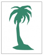 Faux Like a Pro Palm Tree Stencil, 14cm by 18cm , Single Overlay