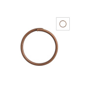 About 315pcs Zacoo Open Jump Rings Shape Round Colour Antique Copper 10x10x0.7 Outside Diameter 10mm