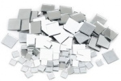 Mosaic Square Mirror Tiles - Assorted, Mosaic Square Mirror Tiles, Pkg of 100