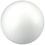 Smoothfoam 6-Pack Balls Crafts Foam for Modelling, 7.6cm , White