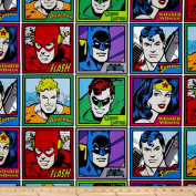 DC Comics Meet The Heroes Multi Fabric