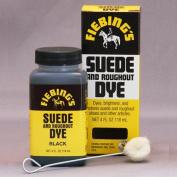 120ml Suede Dye Black By Fiebing