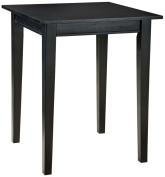 Home Style 5181-35 Arts and Crafts Bistro Table, Black Finish