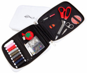 Best Professional Sewing Kit & Sewing Basket Alternative Offers 100 Premium Sewing Accessories - Space-Efficient Designer Case Keeps Everything Neatly Organised. Perfect Sewing Kit for Adults, Beginners, On-Location, Travel, Everyday Emergency Repairs ..