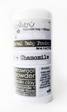 Organic Herbal Baby Powder - 120ml
