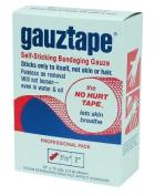 Gauztape Self-Sticking Adhesive Tape 2.5cm x 10 Yards 12 Rolls / Package by Dynarex MS15600