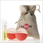 T Spheres® Inner Beauty 45mm, Essential Oil Aromatherapy Massage Balls as Seen on Oprah TV and Oprah Magazine