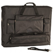 Royal Massage Deluxe Black Universal Oversized Massage Table Carry Case - 80cm