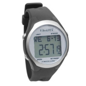 VibraLite 8 Watch with Black Urethane Band