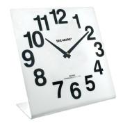 Reizen Giant View Clock- White Face