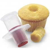 TOOGOO(R) 2pcs Cupcake Corer Plunger Model Tool
