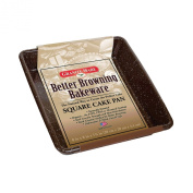 Granite Ware F0624 Better Browning 20cm by 20cm Square Cake Pan