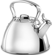 All-Clad E8619964 Stainless Steel Specialty Cookware Tea Kettle, Silver