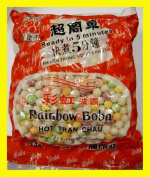Rainbow Tapioca Pearls Boba Bubble Tea 1kg