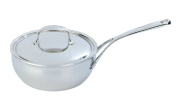 Demeyere Atlantis 2.5l Conic Sauteuse Pan with Stainless Steel Lid