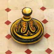 Moroccan Handmade Safi Yellow Spicer,by Treasures of Morocco