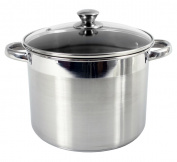 Heuck 15.1l Encapsulated Stockpot with Glass lid