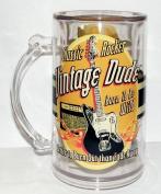 Laid Back CF1319 Vintage Dude Classic Rocker Tankard, 410ml