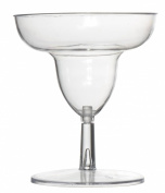 Fineline Settings Tiny Temptations Clear Two Piece 60ml Tiny Toasts-Margarita Glass 120 Pieces