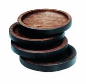Noritake Kona Wood 9.5cm Coasters, Set of 4