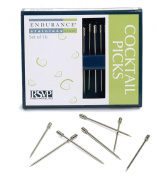RSVP Endurance Stainless Steel Cocktail and Appetiser Pick, Set of 16