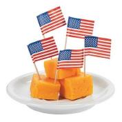 American Flag Picks by Royal 100 per box