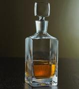 Wine Enthusiast Metropolitan Whiskey Decanter.
