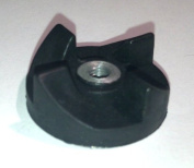 Black Rubber Gear Spare Part for Magic Bullet MB1001 for Cross or Flat Blade