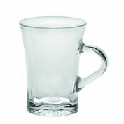 Duralex Amalfi 180ml Clear Espresso Mug, Set of 6