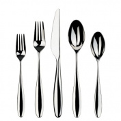 Gourmet Settings Willow 20-Piece Stainless Steel Flatware Set, 4 and 5-Piece Place Settings