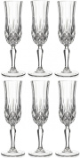 RCR Opera Crystal Champagne Glass, Set of 6