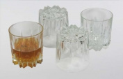 Italian Made Excalibur 4 Piece Whiskey Glass Set - Made in Italy