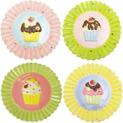 Sassafras / Set of 4 Cupcake Dessert Plates