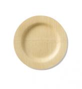 Bambu 23cm Round Veneerware Plates, Package of 25