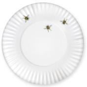 Bee Melamine Dinner Plate, Set of 4