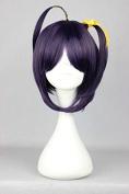Sunny-business Anime Short Chuunibyou Demo Koi Ga Shitai Rikka Purple of Cosplay Wig