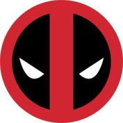 Licences Products Marvel Extreme Classic Deadpool Head Shot Sticker