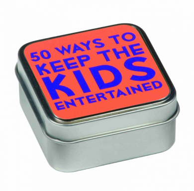 50 WAYS TO KEEP THE KIDS ENTERTAINED TABLETOP