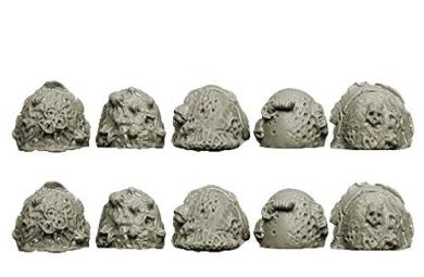 Spellcrow Plague Legions: Knight Shoulder Pads (Ver. 2)