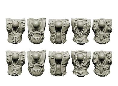 Spellcrow Orcs: Crew Torsos