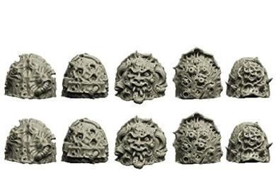 Spellcrow Plague Legions: Knight Shoulder Pads (Ver. 3)